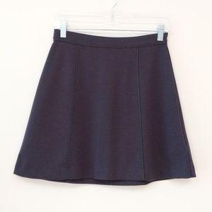 MICHAEL Michael Kors A Line Navy Mini Skirt Sz 2